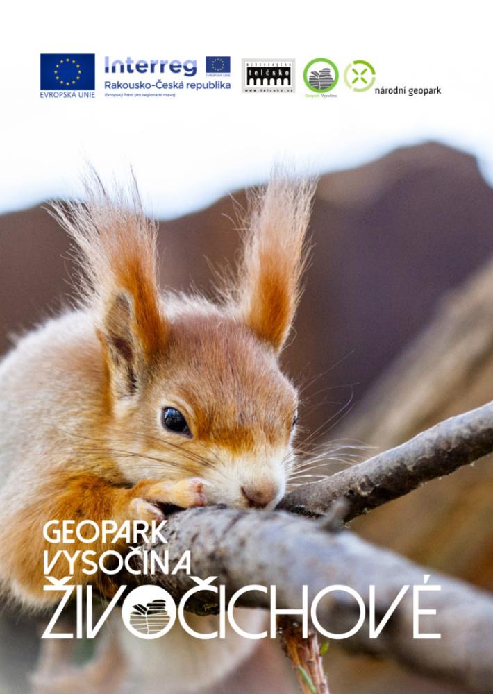 Živočichové geoparku Vysočina