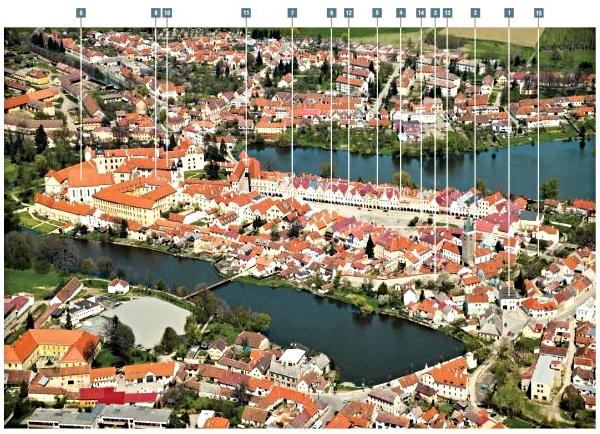 Město a kámen - Telč - Geopark Vysočina